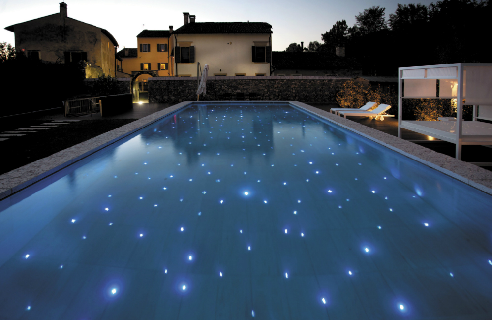 Piscina candidata all'Italian Pool Award 2019